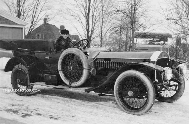 1910 Napier Motor Company of America Touring car