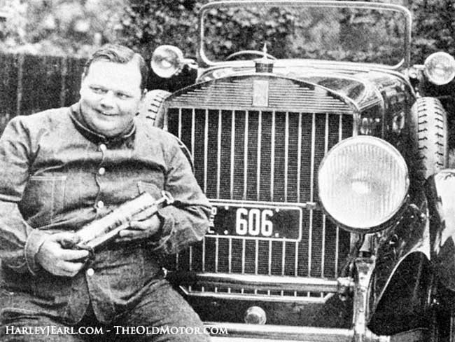 The Fatty Arbuckle 1918 Pierce-Arrow