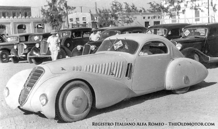 6C 2500 S Alfa Romeo with Viotti coachwork