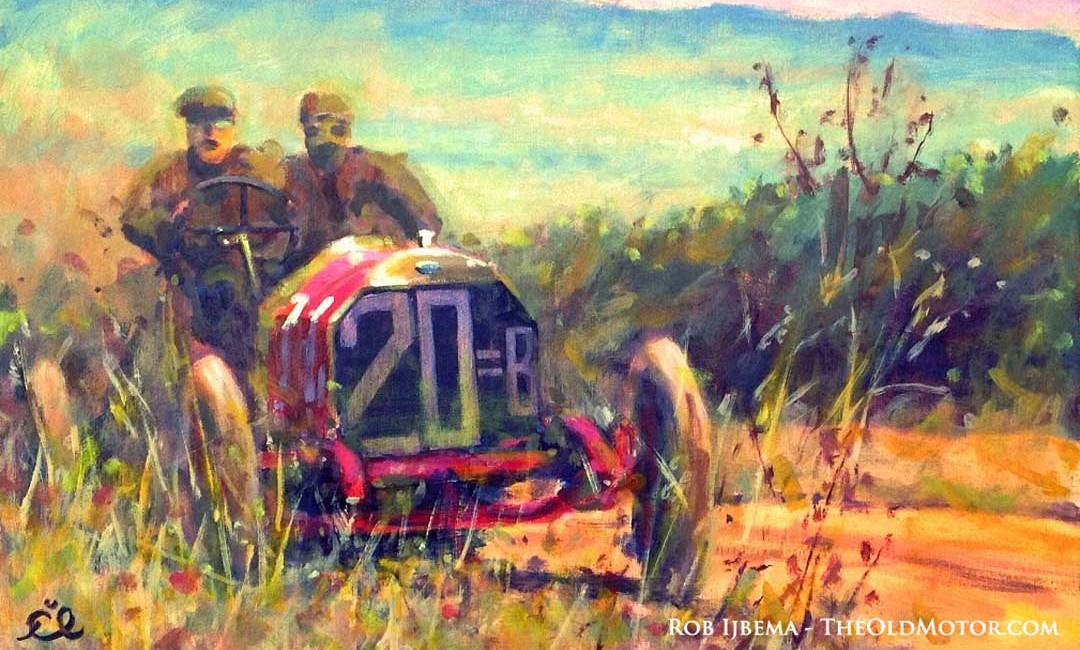 Nazzaro - FIAT - Targa Florio 1907