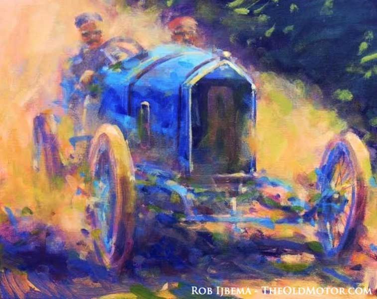 Georges Boillot - Peugeot - Winner 1913 Grand Prix