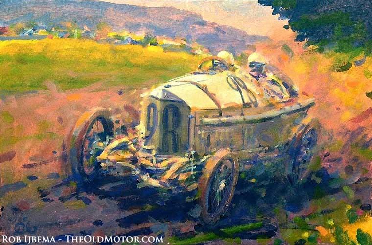 Lautenschlager - Mercedes - Winner French Grand Prix 1914