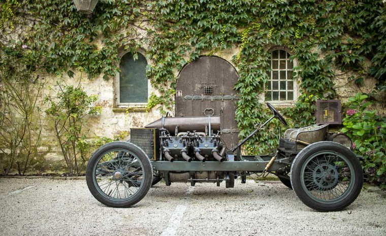 1905 Darracq 200 HP Land Speed Record Car