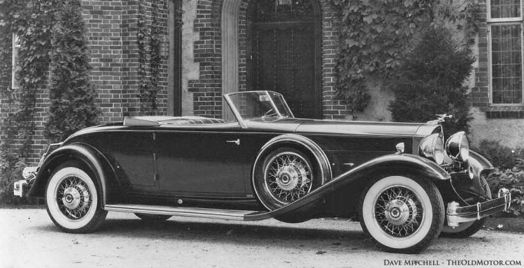 1932 Model 906 Twin Six Dietrich Convertible Roadster