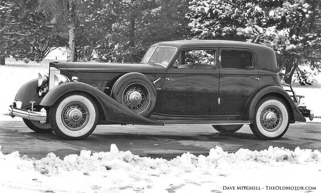 1933 Packard Model 1006 Dietrich Sport Sedan