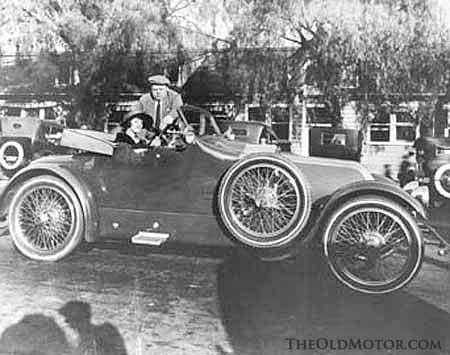 The Fatty Arbuckle 1914 Renault Roadster