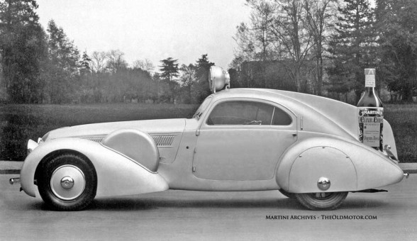 1931 Isotta Fraschini Tipo 8A Coupe Martini Publicity Car