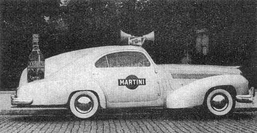 1931 Isotta Fraschini Tipo 8A Coupe Martini Publicity Car
