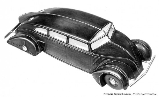 A John Tjaarda designed Sterkenburg car