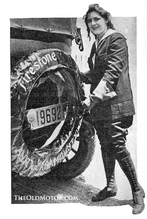 Anita King The Paramount Girl 1915 KisselKar
