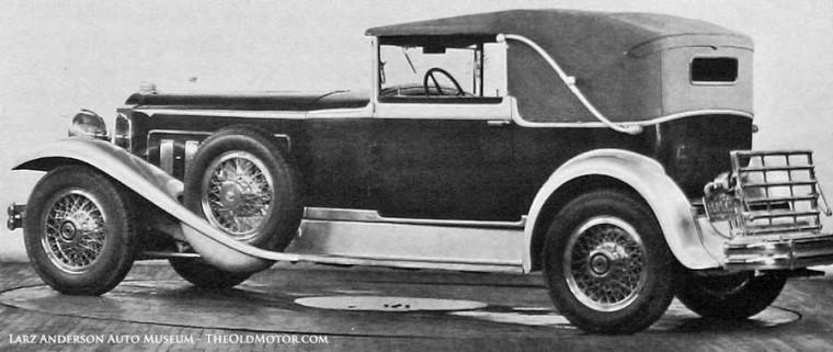 1930 Experimental Packard Straight Twelve