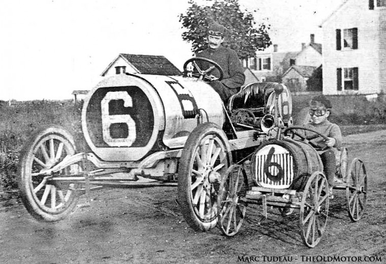 Hotchkiss Racing Car 1906 Vanderbilt Cup Race