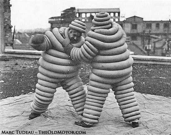 Michelin Men Boxing