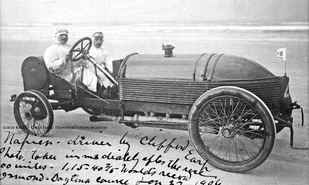 Napier Record Setting The Napier Motor Company Of