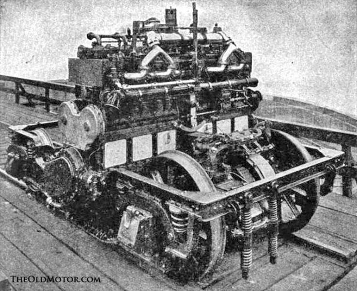 McKeen Rail Motor Car the McKeen Motor Car Company