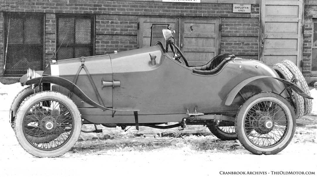 1916 Scripps Booth V8-Powered Vitesse Speedster
