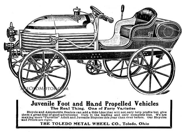 190 Napier Children's Racing Car