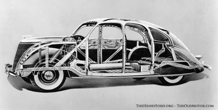The 1936 Lincoln-Zephyr Unibody Design