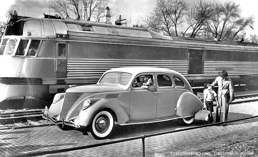 the designs of john tjaarda result in the 1936 lincoln zephyr the old motor. Black Bedroom Furniture Sets. Home Design Ideas
