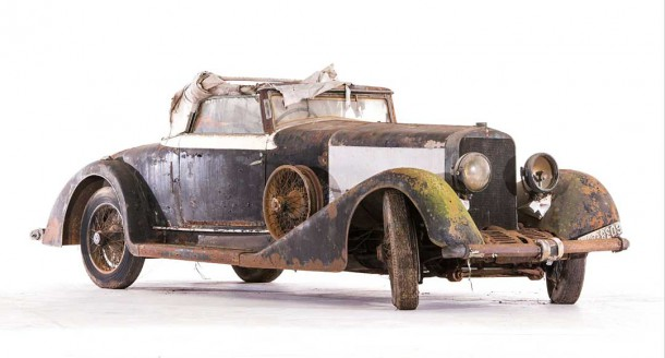 1925 Hispano Suiza H6B Cabriolet with coachwork by Million Guiet.