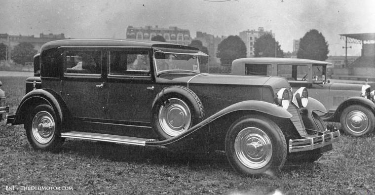 1929 Parc des Princes Concours d'Elegance 1929 Renault