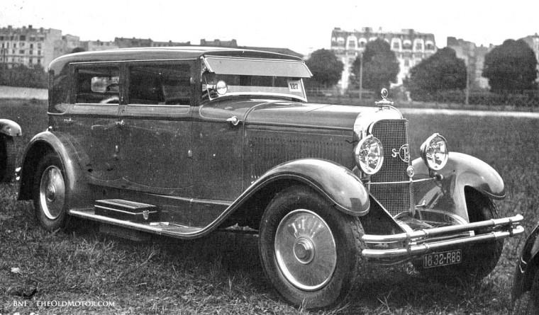 1929 Parc des Princes Concours d'Elegance 1929 Panhard et Levassor