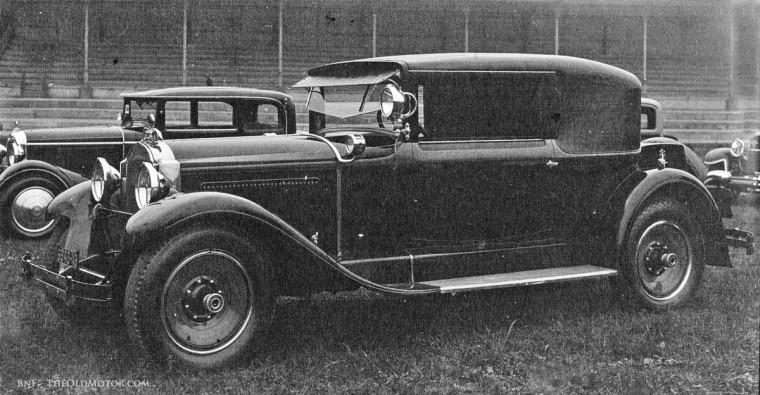 1929 Parc des Princes Concours d'Elegance 1928 Packard Standard Eight