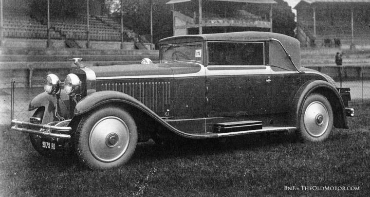 1929 Parc des Princes Concours d'Elegance Hispano-Suzia H6B