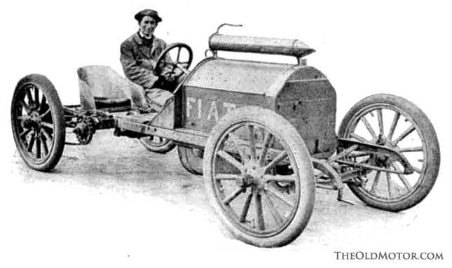 1905 Fiat Junior 24-M.P. Racing Car