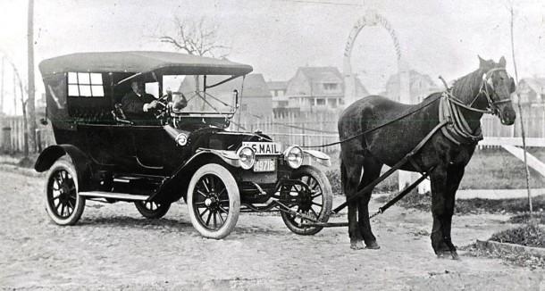 1913 Overland Touring Car