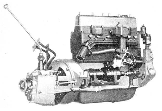 1929 Hudson Super-Six Engine