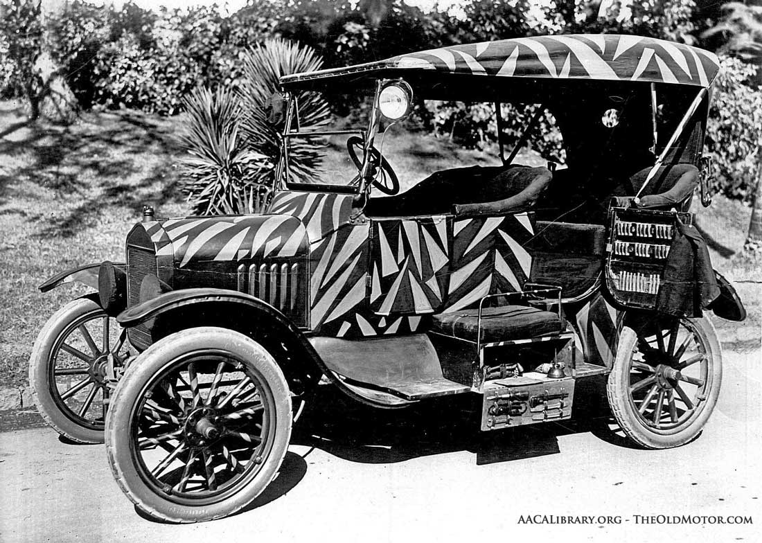 "A Maharajah\'s Model ""T"" Ford Tiger Hunting Car 