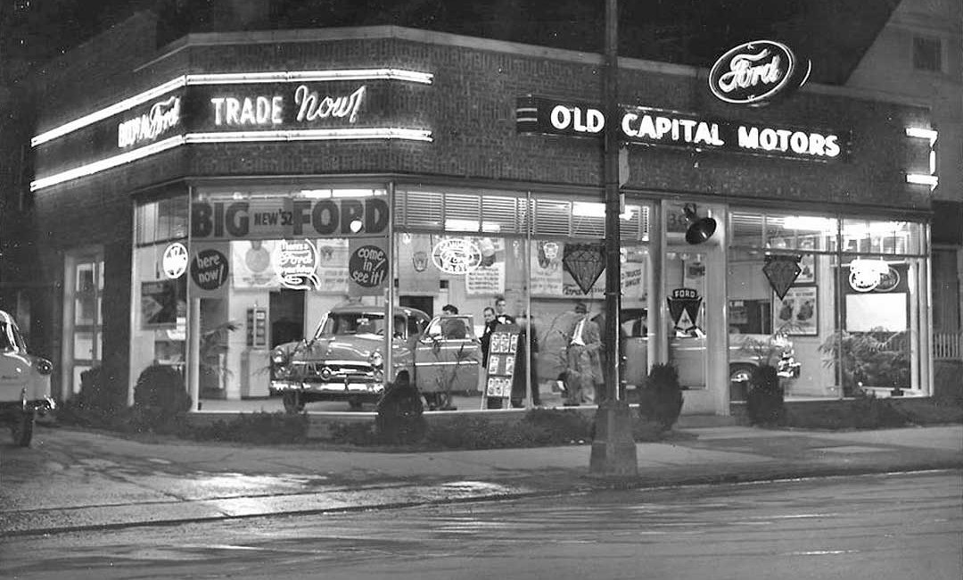 Old Capitol Motors Ford Kingston New York The Old Motor