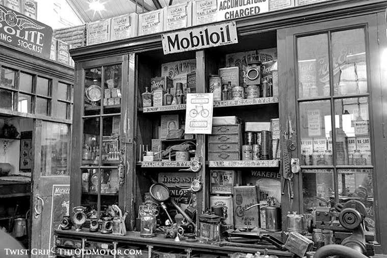 An Early Auto Parts Store In The United Kingdom The Old