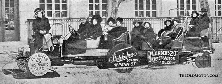 Studebaker Flanders Snowmobile