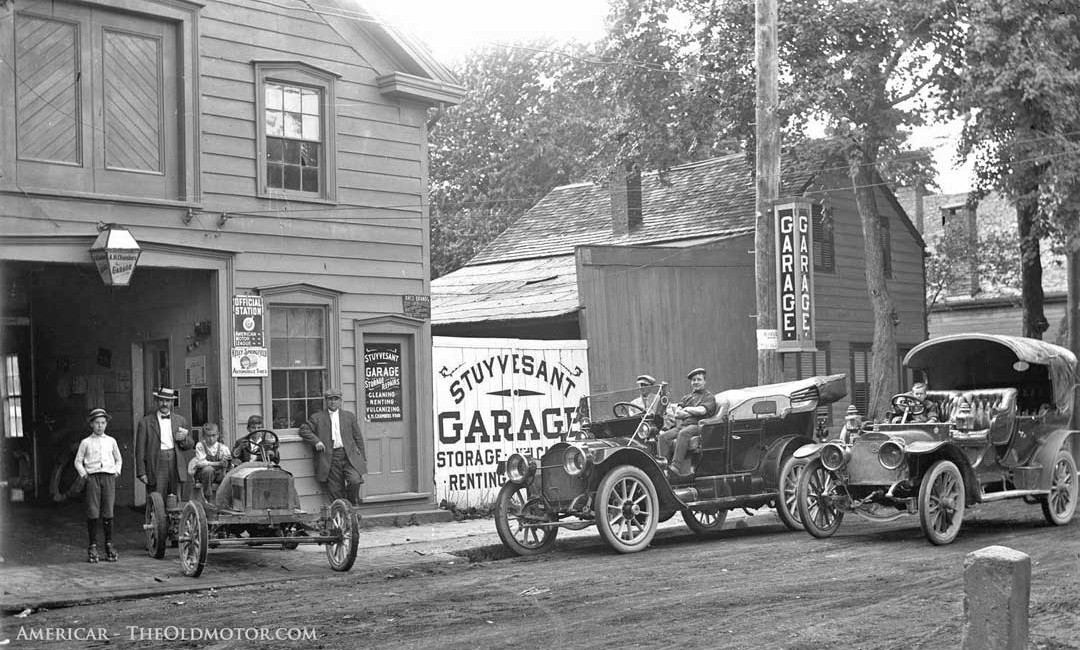 A.H. Chamberu0027s Stuyvesant Garage, Kingston New York And A Brush Car And A  Model Thirty