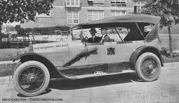 1920s Stutz Touring Car Anti-Automobile Thief Association of America