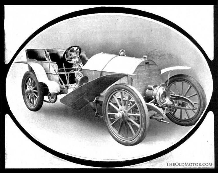 A.G. Vanderbilt's 1904 90 HP Fiat