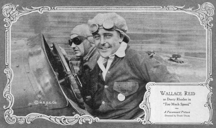 Actor Wallace Reid in a Duesenberg