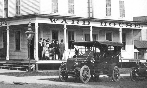The 1910 FWD Badger Car in Clintonville Wisconsin