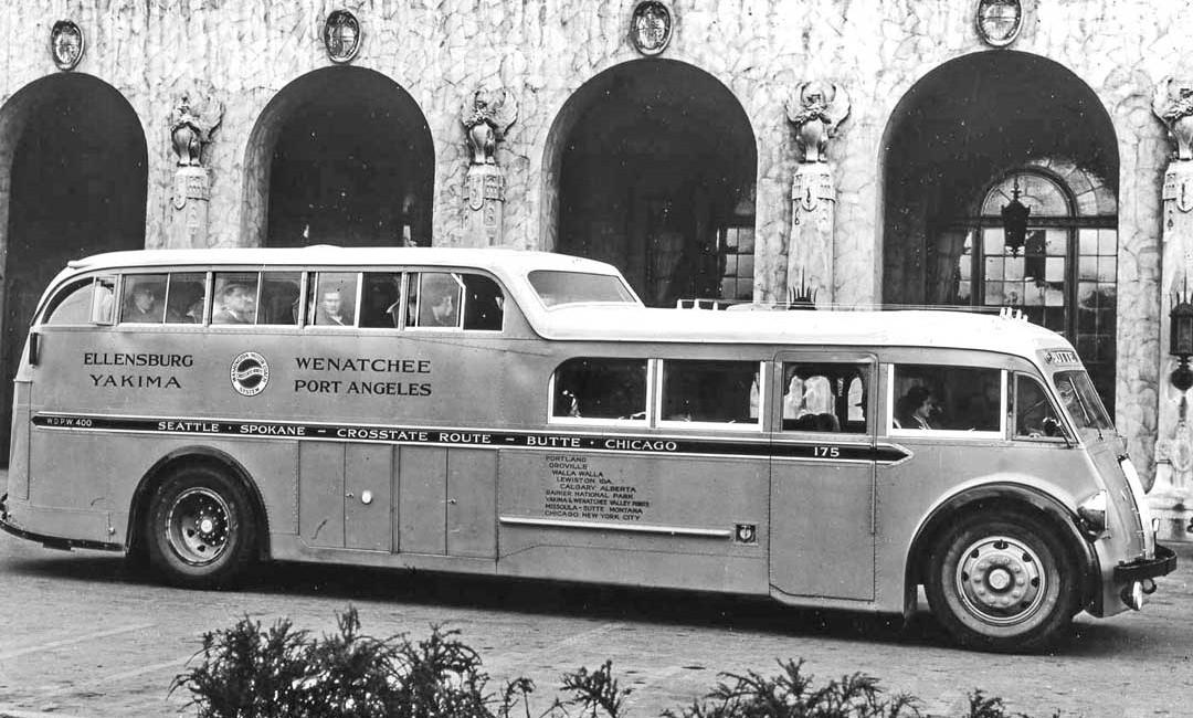1930s Washington Motor Coach System Kenworth W-1 Deck and a Half Bus