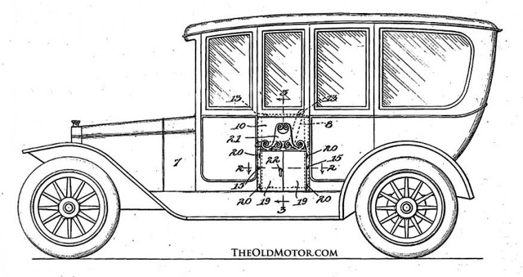 Combined Motor Car and Hearse 1916