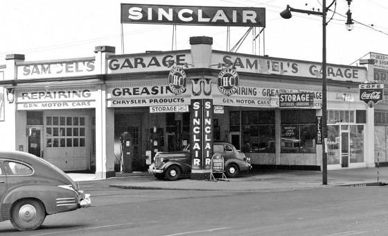 Samuel's Garage And Sinclair Service Station Salt Lake City