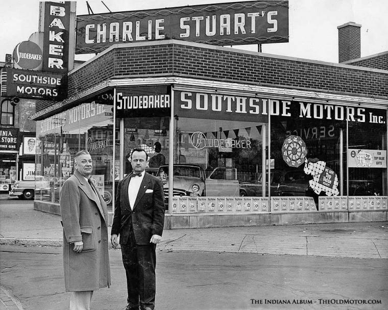 Charlie Stuart's Indianapolis Studebaker Dealership 1955