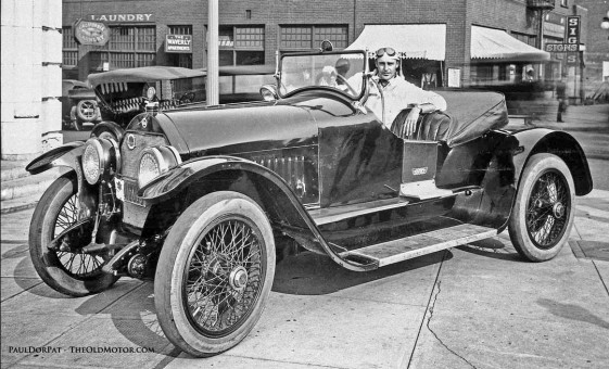 Actor Wallace Reid And A Stutz Bearcat In Seattle