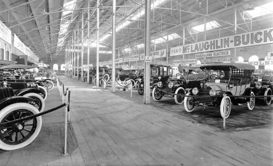 1912 Toronto Auto Show At Transportation Hall McLaughlin-Buick