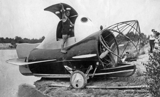 The 1930 Comet Plane designed by Wendel Wobido and Stephen Nagel, both of Berlin, NJ