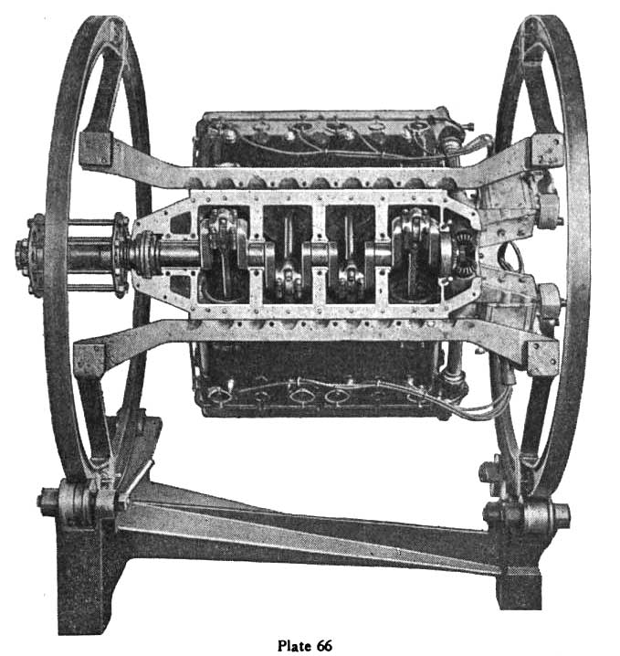 The Hispano-Suiza V8 Aircraft Engine Designed By Marc