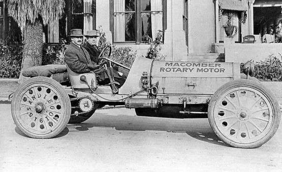 The Macomber Rotary engined car