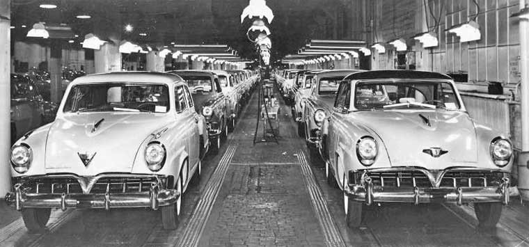 Studebaker Assembly line